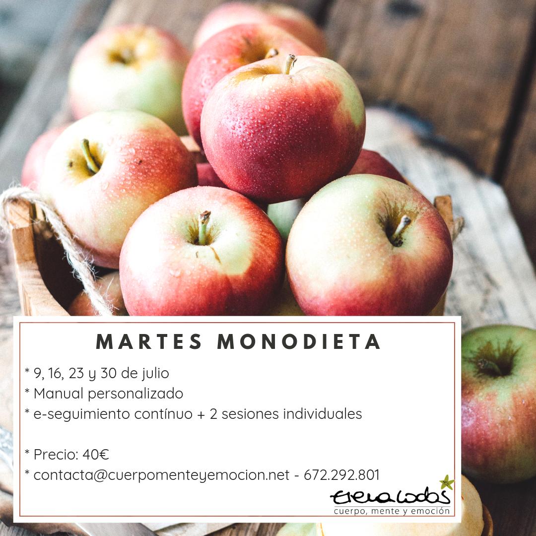 Monodieta: curso online de alimentación consciente